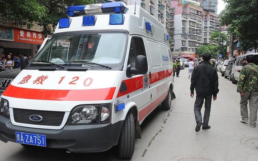 Çində attraksion parkında qəzada 16 nəfər xəsarət alıb