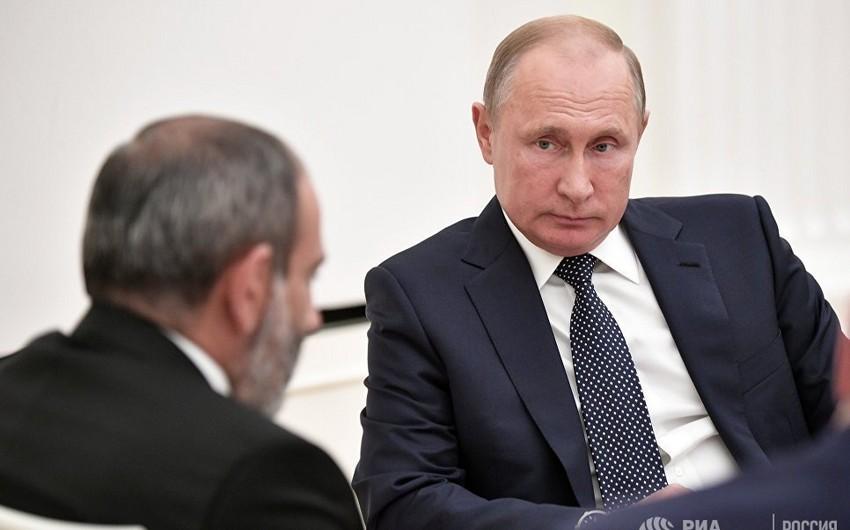 Putin-Paşinyan görüşü tərəflərin bir-birilərinə inanmadıqlarını göstərdi - ANALİTİKA
