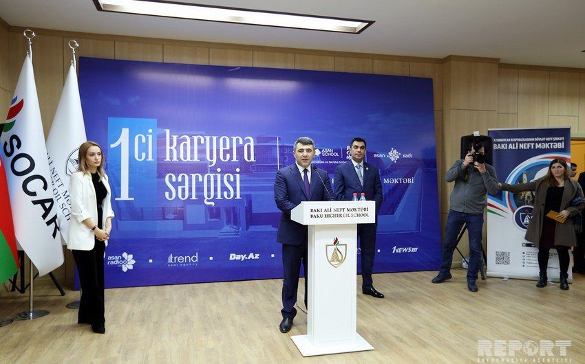 BANM-in kampusunda 1-ci Karyera Sərgisi açılıb