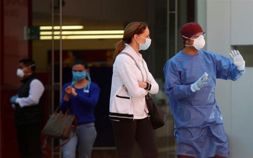 Meksikada koronavirusa yoluxanların sayı 68,6 mini ötdü