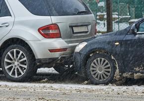 МВД: В авариях на заснеженных дорогах страны погиб 1 человек, 17 пострадали