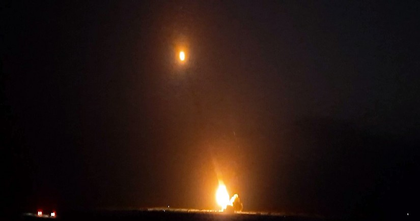 Artillery shells were fired at the enemy during the night: Defense Ministry