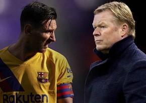 Тренер Барселоны раскрыл подробности первого разговора с Месси