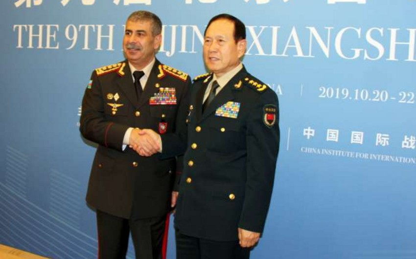 Chinese Defense Minister: China supports the territorial integrity and sovereignty of Azerbaijan