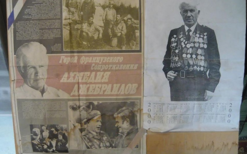 A new film will feature military history of Ahmadiyya Jabrayilov