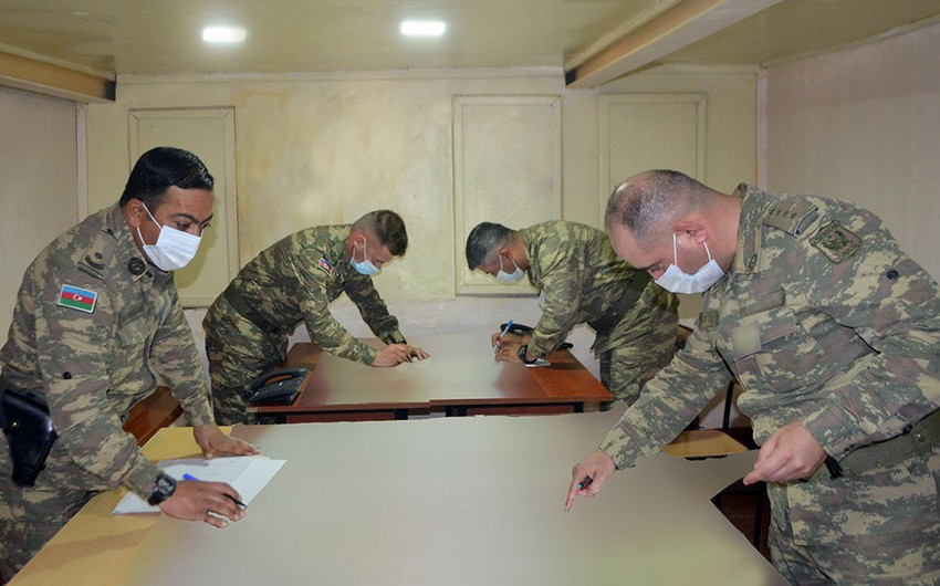 Azərbaycan Ordusu təlimlərin növbəti mərhələsini icra edir
