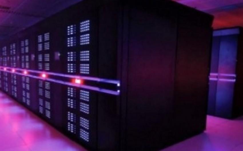 ABŞ-da dünyada ən güclü superkompyuter hazırlanıb