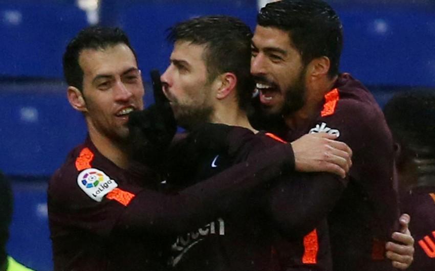 Футболист Барселоны может быть дисквалифицирован за реакцию на баннер про Шакиру
