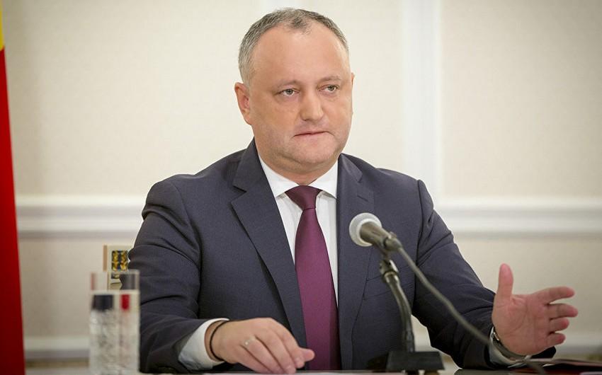 Moldova prezidenti səlahiyyətlərinin genişləndirilməsi ilə bağlı referendum keçirir