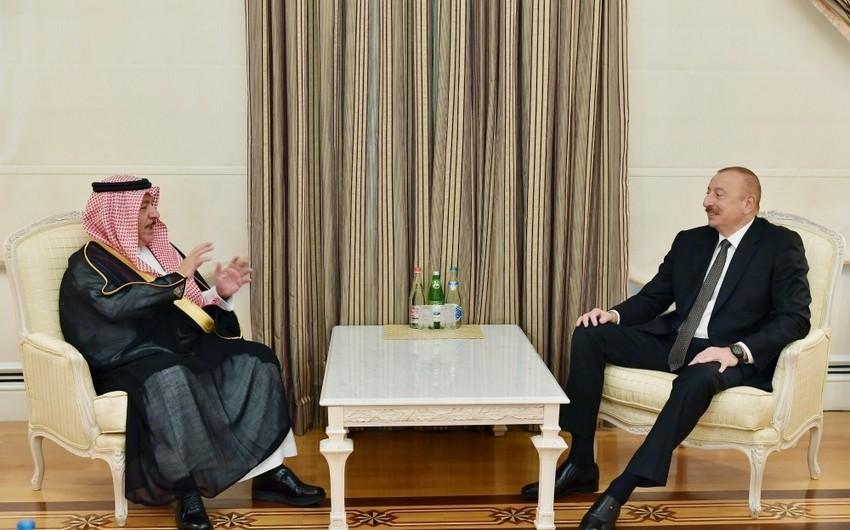 Ilham Aliyev received founding Secretary General of King Abdullah bin Abdul Aziz International Center for Interreligious and Intercultural Dialogue