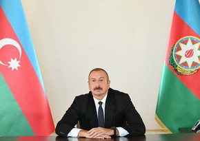 Ilham Aliyev renames liberated Veng village to Chinarli