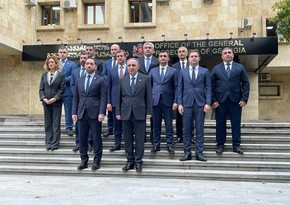 Azərbaycan və Gürcüstanın Baş prokurorları arasında görüş olub