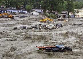 В Индии из-за сильного наводнения погибли 59 человек