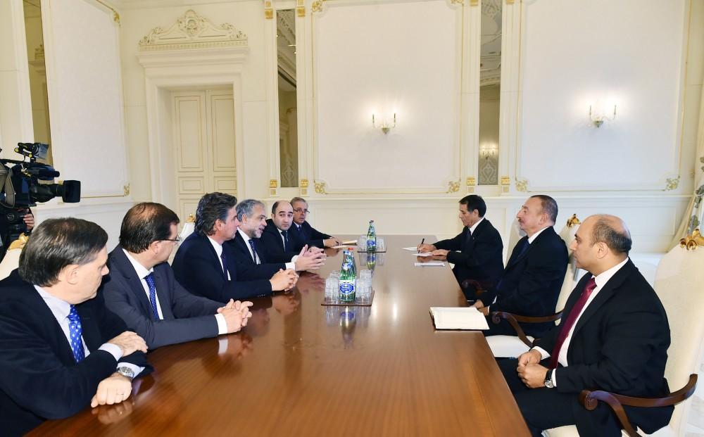 Президент Ильхам Алиев принял делегацию парламента Уругвая