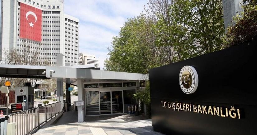 Türkiyə XİN erməni terrorunun qurbanı olan diplomatla bağlı paylaşım edib