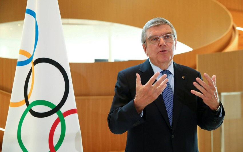 Thomas Bach: Podium is not made for political demonstrations