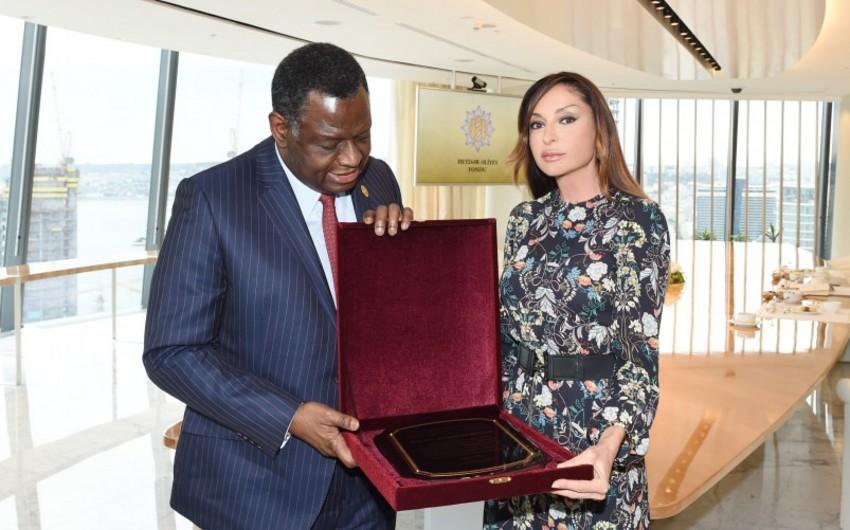 Mehriban Əliyeva BMT-nin Əhali Fondunun icraçı direktoru ilə görüşüb
