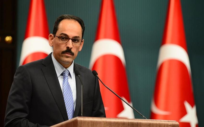 Türkiyə Prezident Administrasiyası Almaniya kanslerinə cavab verib