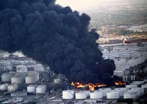 ABŞ-da neft anbarında partlayış olub, xəsarət alanlar var