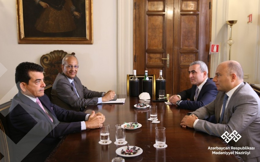Azerbaijani Culture Minister meets with ICESCO Director-General