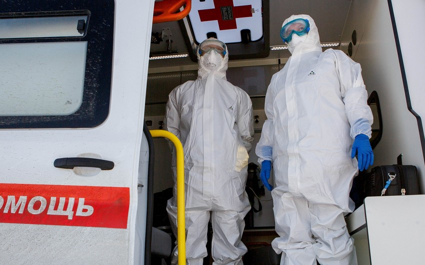 Rusiyada daha 128 nəfər pandemiyanın qurbanı oldu