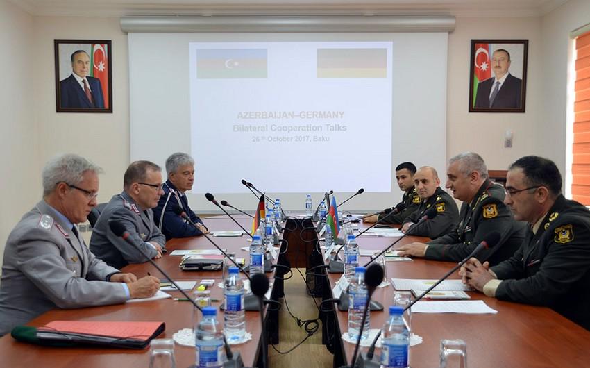 Azerbaijan and Germany Defense Ministries hold negotiations
