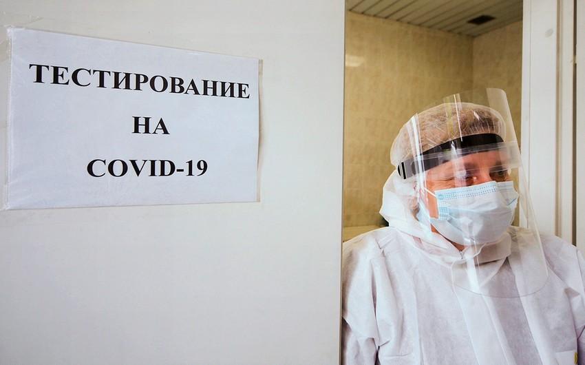 Rusiyada COVID-19-a yoluxanların sayı 1 milyona yaxınlaşır