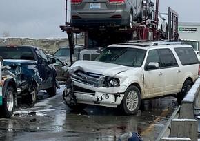 Nigeriyada üç avtomobil toqquşub, 11 nəfər ölüb, 39 nəfər yaralanıb