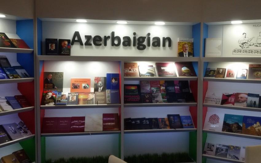 Azərbaycan beynəlxalq kitab sərgisində təmsil olunur