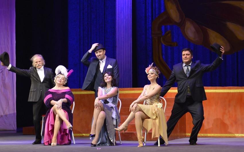 """Musiqili Teatrda """"Silva"""" tamaşasının premyerası keçirilib"""