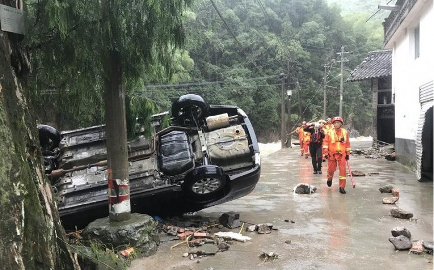 Çində Lekima qasırğası nəticəsində ölənlərin sayı 32 nəfərə çatıb