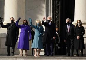 """ABŞ-ın yeni prezidenti: """"Demokratiya qalib gəldi"""""""