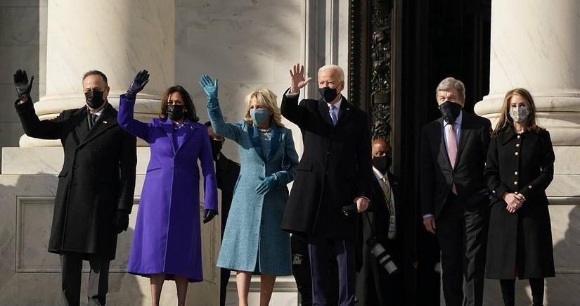 """ABŞ-ın yeni prezidenti : """"Demokratiya qalib gəldi"""""""