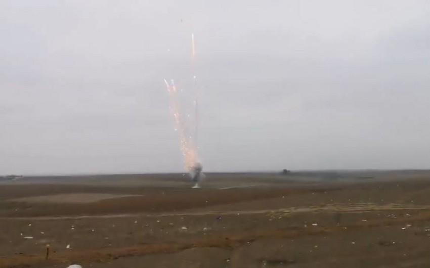 Обезврежен фосфорный снаряд, сброшенный Арменией на Физули