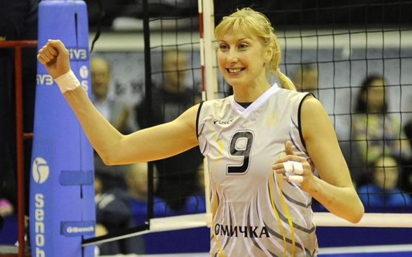 Azərbaycan milli komandasının voleybolçusu Rusiya klubu ilə anlaşıb