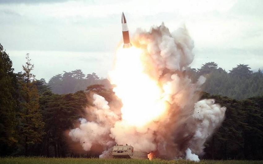 KXDR növbəti dəfə ballistik raket buraxıb