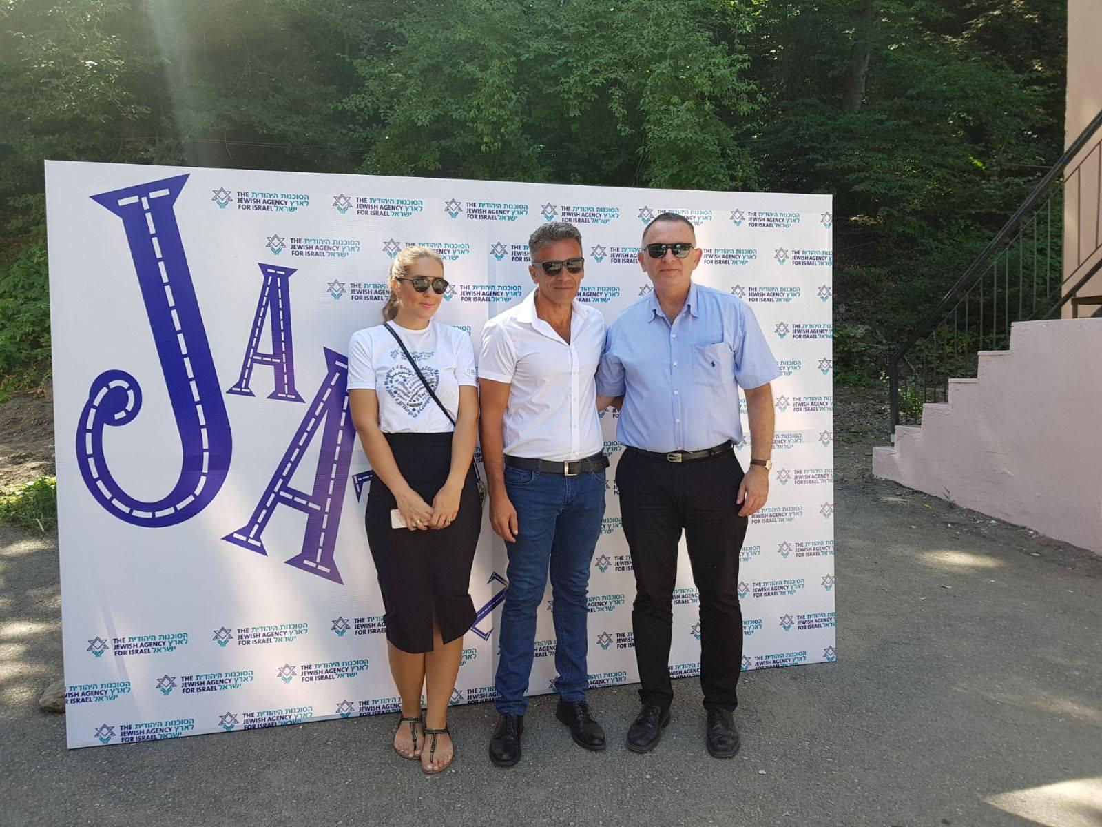 Ambassador of Israel to Azerbaijan visits summer camp for Jewish children in Guba