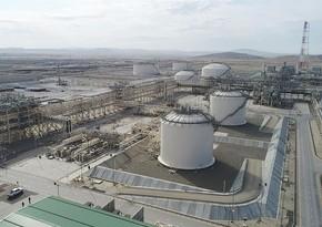 Экспорт шахденизского газа вырос в первом квартале