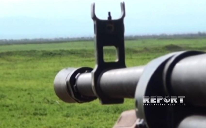 Армянские вооруженные подразделения 16 раз нарушили режим прекращения огня, используя крупнокалиберные пулеметы