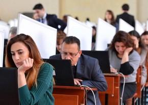 Dövlət qulluğuna qəbul üçün keçirilən test imtahanları yekunlaşdı