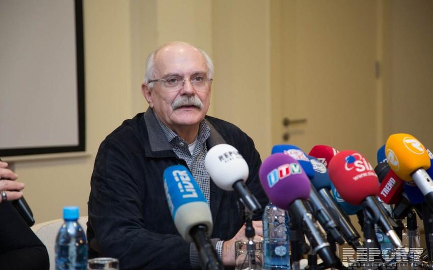 Nikita Mixalkov Bakıda ustad dərsi keçib
