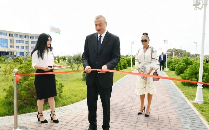 YAP Pirallahı Rayon Təşkilatının yeni inzibati binasının açılışı olub - YENİLƏNİB