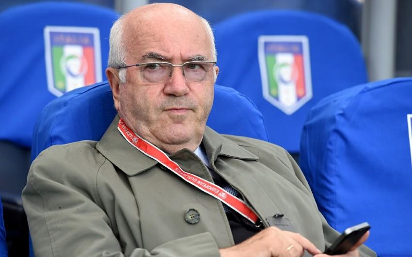 İtaliya Futbol Federasiyasının sabiq prezidenti cinsi zorakılıqda şübhəli bilinir
