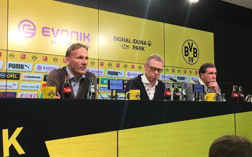 Dortmund Borussiyasının baş məşqçisi dəyişib