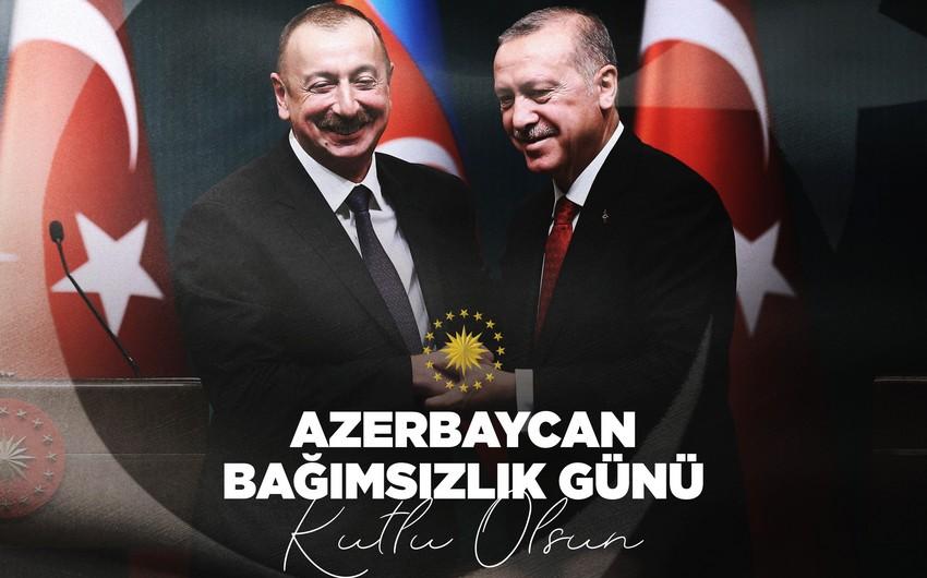 Ərdoğan Azərbaycanı təbrik edib