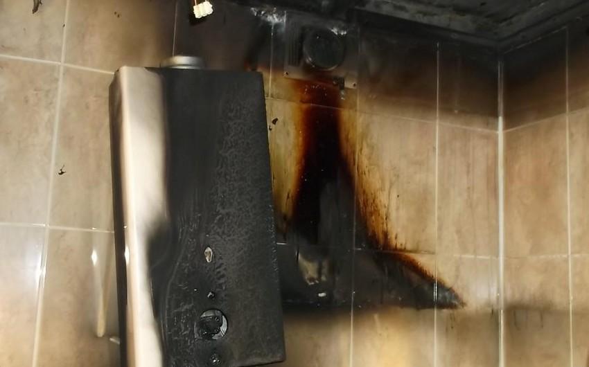 Şəki sakini yaşadığı evin vanna otağında yanıq xəsarətləri alıb