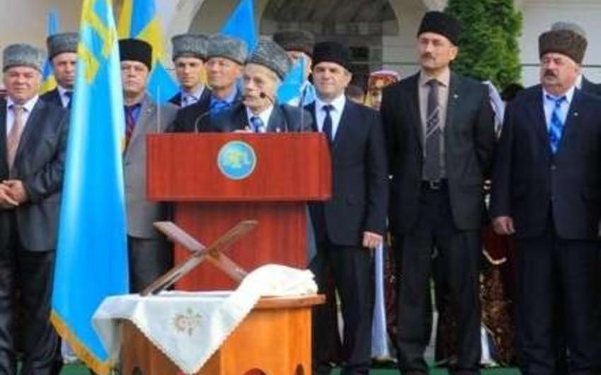 Krım-Tatar Məclisi sədrinin müavinin evində axtarış aparılıb
